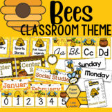Bees Classroom Theme Decor and Organizational Pack