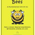 """""""Bees"""" Math and Literacy Unit - Aligned with Common Core S"""