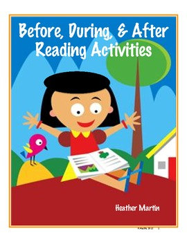 Before, During, and After Reading Activities - Information