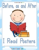 Before as and After I Read Differentiated Posters - 7 pages