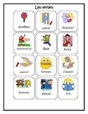 Beginner French Verbs-Activities and Bingo