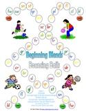 Beginning Blends Bouncing Balls Game - 1 page