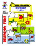 Beginning Letter Flip Books