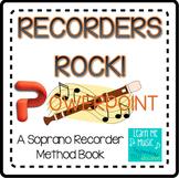 "Beginning Recorder Method Book Coordinating PPT - ""Recorde"