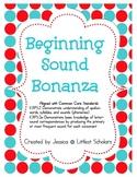 Beginning Sound Bonanza [Complete Pack]
