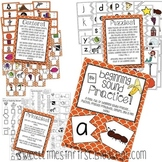 Beginning Sound Practice Pack {Centers, Printables, Mini Book}