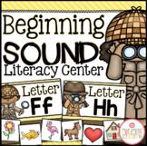 Beginning Sound Sort Literacy Center