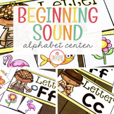 Beginning Sound Sort Literacy Center