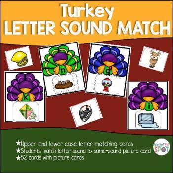 Beginning Sound Turkey Matching