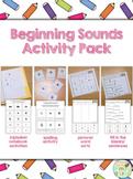 Beginning Sounds Activities Pack