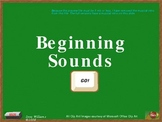 Beginning Sounds F - J Interactive PowerPoint