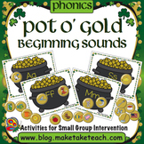 Beginning Sounds - Pot O' Gold
