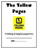Beginning of the School Year: The Yellow Pages - Student E