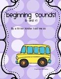 Beginning sounds Bus center