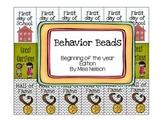 Behavior Beads (Beginning of the Year edition)