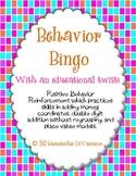 Behavior Bingo ... With an Educational Twist