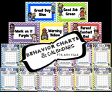 Behavior Charts and Matching Calendars