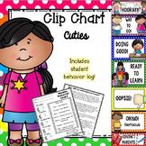 Behavior Clip Chart - Cutie Kids Polka