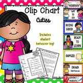 Behavior Clip Chart - Cutie Kids Polka