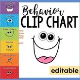 Behavior Clip Chart - Goofy Faces