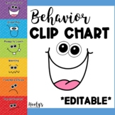 Behavior Clip Chart - Goofy Faces