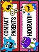 Behavior Clip Chart - Monster themed