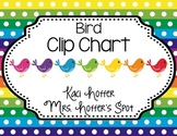 Behavior Clip Charts {Birds}