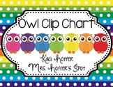 Behavior Clip Charts {Owl}