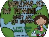 Behavior Terminal! {A Travel Themed Behavior Chart}