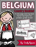 Belgium Booklet (A Country Study!)