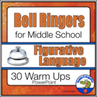 Bell Ringers - Common Core - Figurative Language