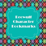 Beowulf Character Bookmarks