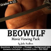 Beowulf Movie Viewing Pack: Background Lecture, Questions,