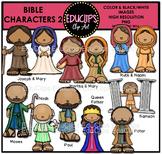 Bible Characters 2 Clip Art Bundle