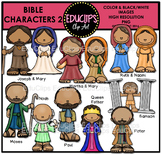 Bible Characters 2 Clip Art Bundle