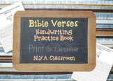 Bible Verses Handwriting and Penmanship Practice