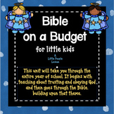 Bible on a Budget - Once-a-week lessons, activities & art