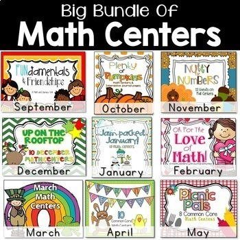 Big Bundle of Math Centers