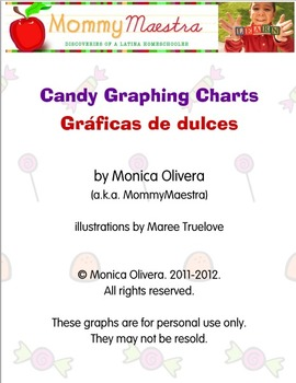 Bilingual Candy Graphing Worksheets