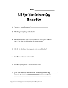 bill nye planets worksheet page 3 pics about space. Black Bedroom Furniture Sets. Home Design Ideas