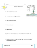 Bill Nye Water Cycle Video Worksheet