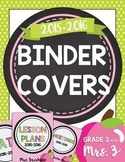 Binder Covers {with Your Name}