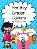 Binder Covers for Monthly Organization