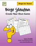 Bingo Showdown - Create Your Own Game