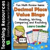 Decimals - Place Value Review Bingo Showdown (5th Grade)