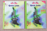 """BioSources Lab Program """"Quick Labs"""" by Holt Student and Te"""