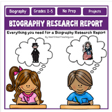 Biography Research Report Project & Rubric