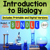 Biology An Introduction Complete Unit Plan - 20 products included