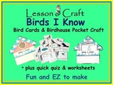 Birds! Birds! Birds! * Birds I Know mini-unit * Bird Cards