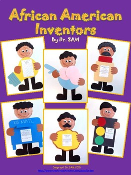 Black History Month Craft: African American Inventors - Set of 6